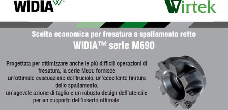 Frese a spallamento retto WIDIA serie M690 in promozione