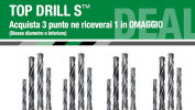 Punte Widia Top Drill: una in omaggio