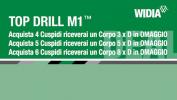 Punte Widia Top Drill M1 in promozione