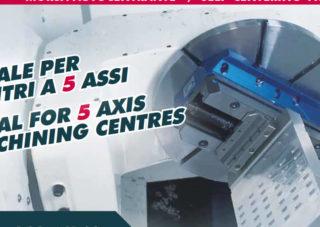 Morse autocentranti per centro di lavoro a 5 assi