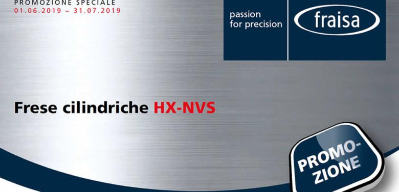 Frese cilindriche Fraisa HX-NVS