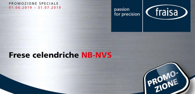Frese cilindriche Fraisa NB-NVS