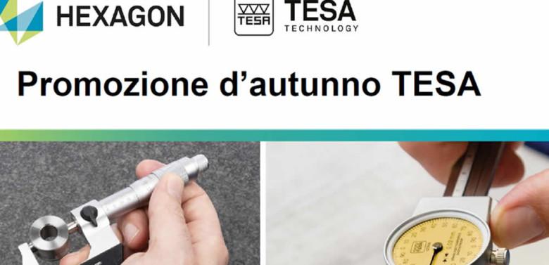 Strumenti di misura TESA in promo